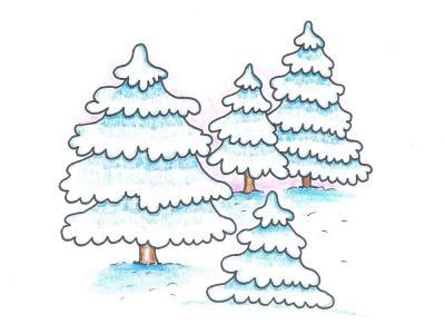 strom_zima